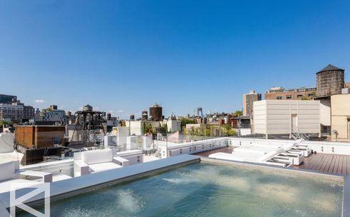 85 mercer street rooftop pool