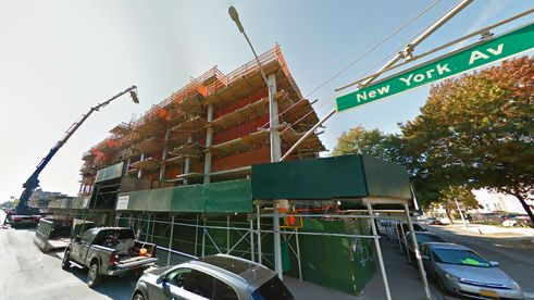 664 New York Avenue, google streetview new york avenue, lightstone management, jfa architecture, brooklyn new rentals