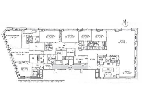 212 Fifth Avenue #21AB floor plan