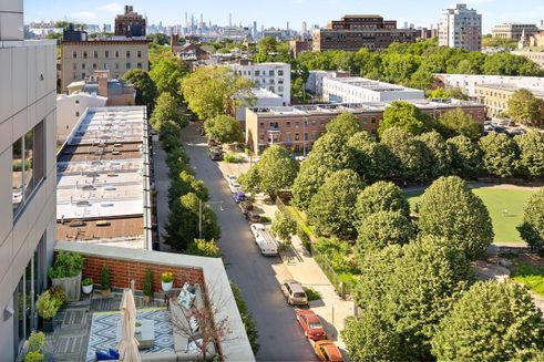 Fort Greene skyline apartments Pacific Park ny