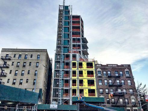 856 washington avenue construction