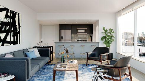 420 Kent Avenue interior