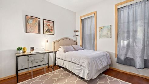 527 East 12th Street Bedroom