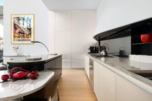 56 Leonard Street kitchen