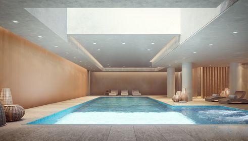 Brooklyn buildigns with pools