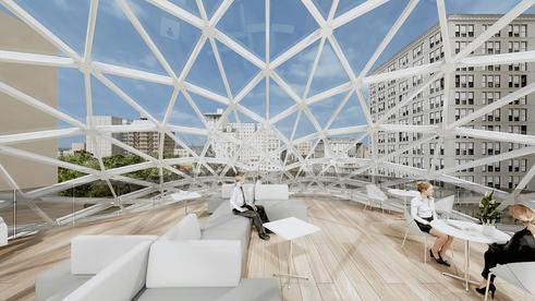44 Union Square interior renderings