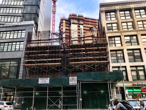 842 sixth avenue demolition