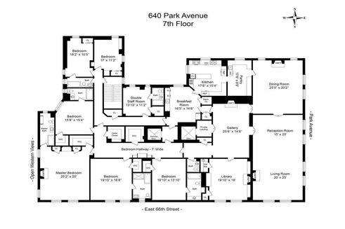 640 Park Avenue #FL7 floor plan