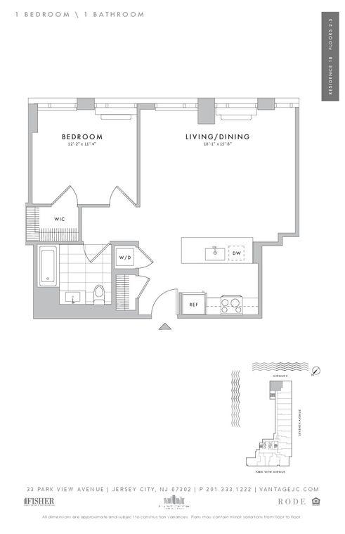 33 Park View Avenue floor plans
