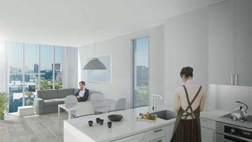112 Fourth Avenue interiors