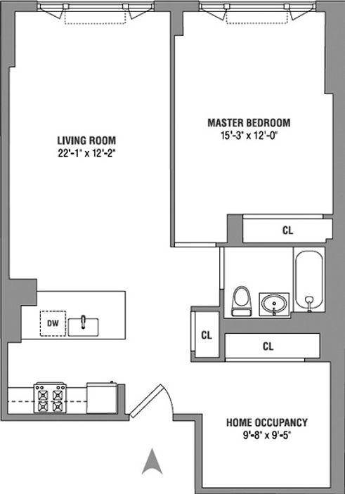 189 Schermerhorn Street #7 floor plan
