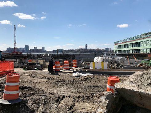 Pier55 construction 2018-2