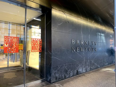 Barney's Department store