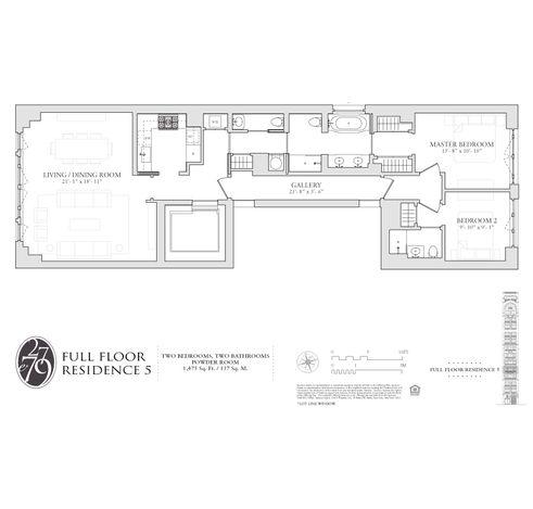 27 East 79th Street #5 floor plan