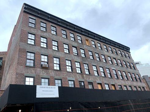 New York preservation restoration Meatpacking
