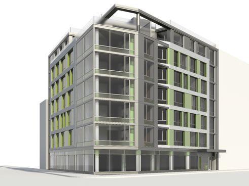 840 Fulton Street rendering