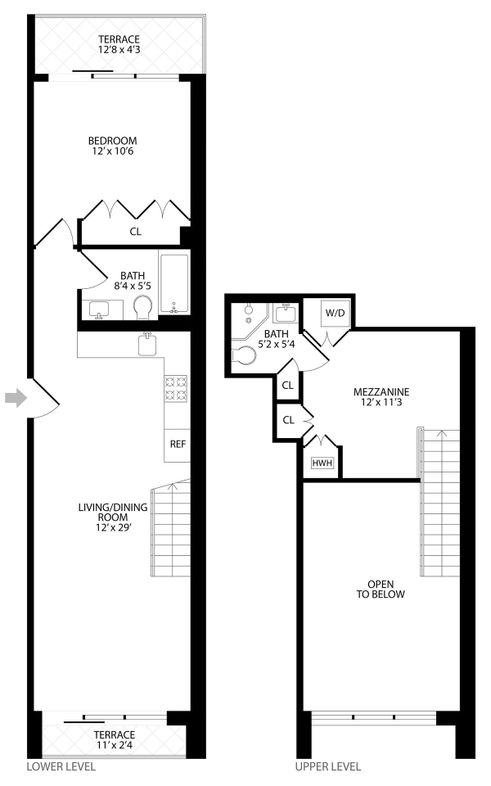203 Quincy Street #2C floor plan