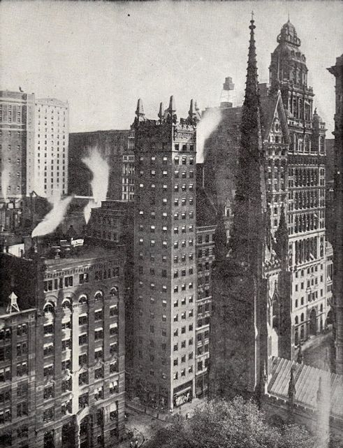 Chimney Building, One Wall Street