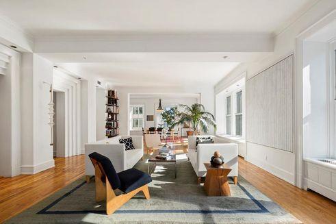 Morse Building Unit 14AB living room
