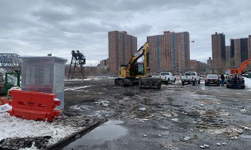Bronx Point construction
