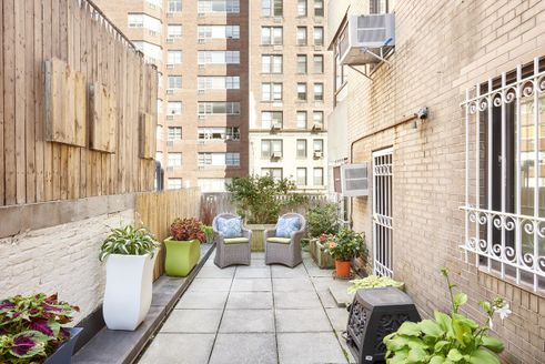 19 East 88th Street outdoor space