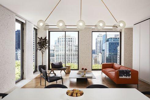 16 West 40th Street interior