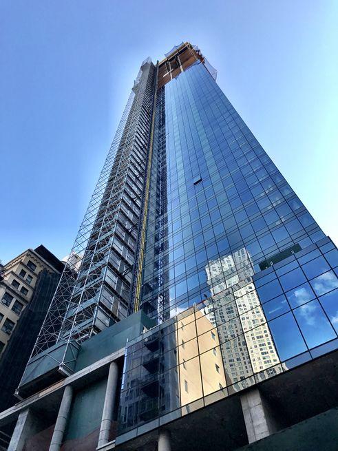 118 Fulton Street construction