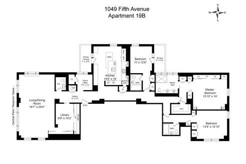 1049 fifth avenue floor plan