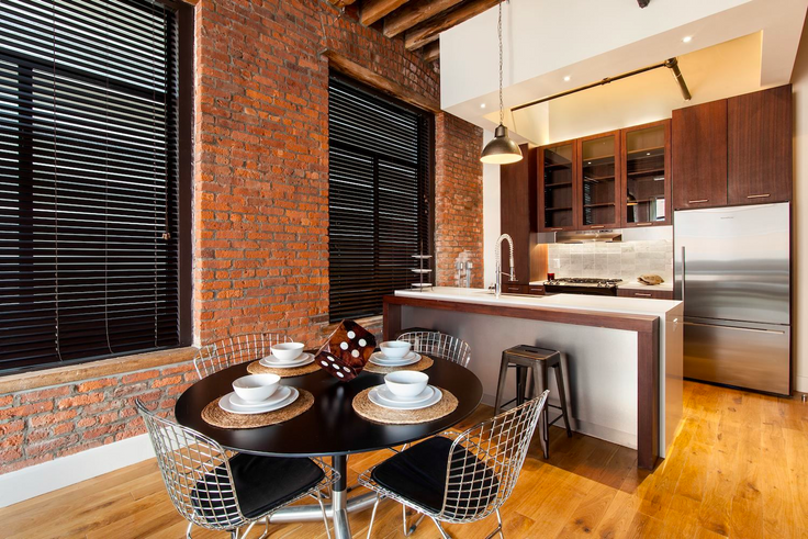 Printhouse Lofts in Williamsburg is leasing with 2 months free on a 12-month lease. (Image via Printhouselofts.com)