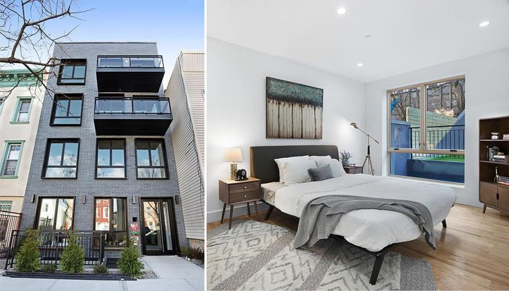 Newly-opened condo at 1204 St. Marks Avenue in Crown Heights; (Photos via Douglas Elliman)