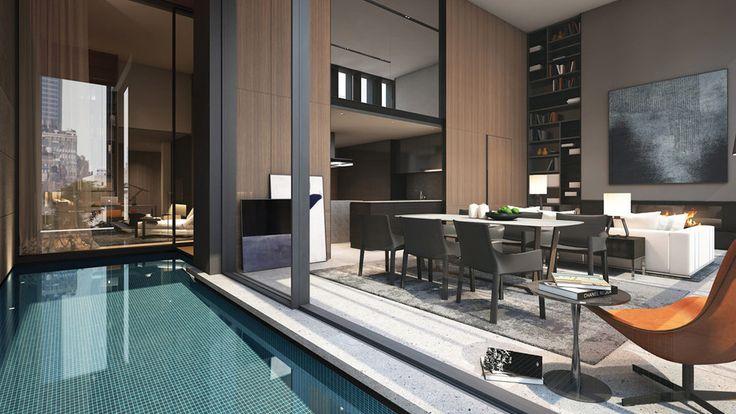 Soori High Line, Private Pool, Luxury Condo, Manhattan, New York City