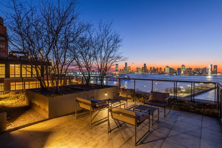 View from the private terrace of 150 Charles Street, #8AN