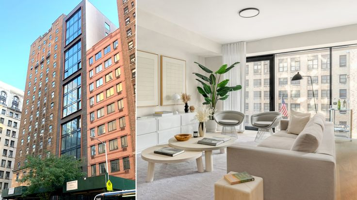 139 East 23rd Street is the slender glass and dark brick high-rise pictured in center (CityRealty)