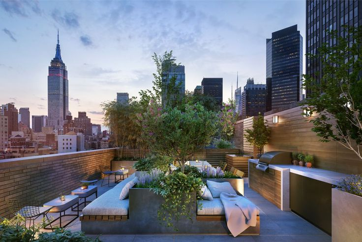 Roof garden; (Rendering credit: CBSK Ironstate)