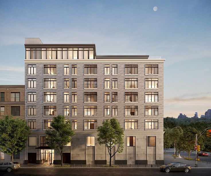 Rendering of the new development at 10 Lenox Avenue in Harlem (All images courtesy of Halstead Development Marketing)