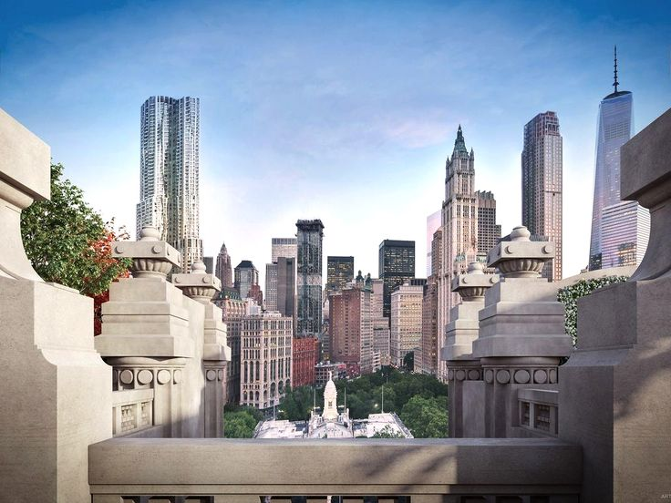 The view from 49 Chambers (The Chetrit Group / Douglas Elliman)