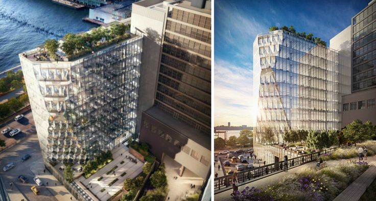 New Renderings of the Solar Carve Tower via Studio Gang Architects