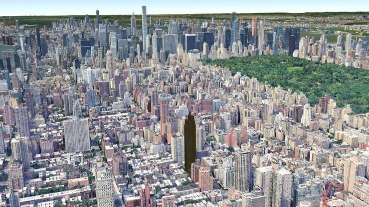 200 East 83rd Street skyline manhattan real estate