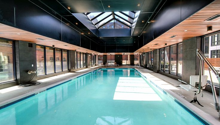 The heated pool at The Crescendo