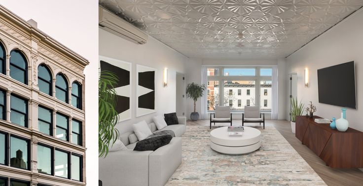 Once believed to be the largest retail establishment in the world, the former Ridley's Department Store building has been reimagined into high-end rental residences (Images via Bold New York)