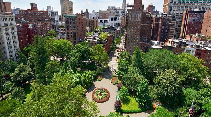 Gramercy Park. Image courtesy of the Gramercy Park Hotel