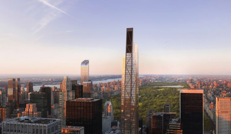 53W53 and the Midtown's Central Park skyline (Credit: DBOX via Hines)