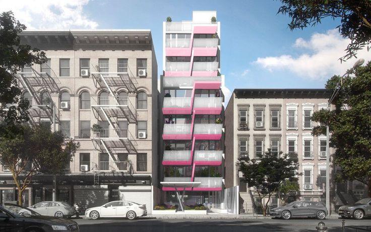 329 Pleasant Avenue in East Harlem (Image via Kurv Architecture)