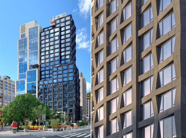 111 Varick Street; L: CityRealty, R: via S9 Architecture