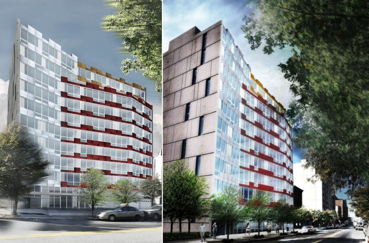 A 10-story mixed-use building with 54 rentals is planned for 1618 Fulton Street in Bedford-Stuyvesant, Brooklyn (Photo Credit: RKTB Architects)