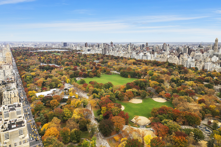 Central Park from Trump International #PH50A (via Corcoran Group)