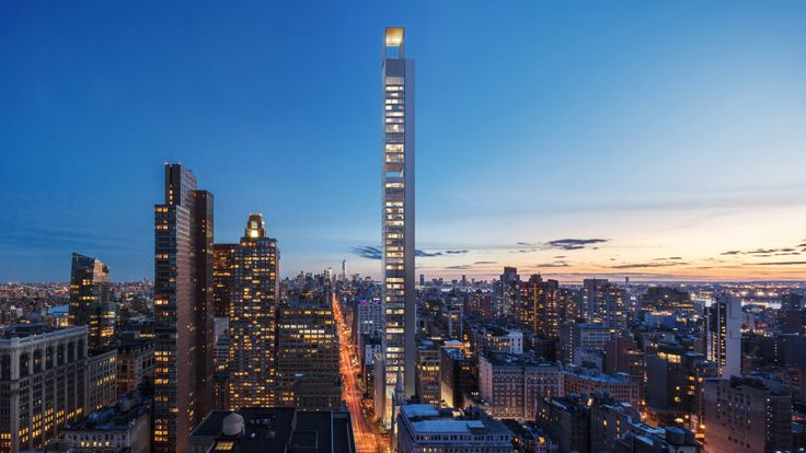 Rendering of 262 Fifth Avenue from the north (Five Points Development)