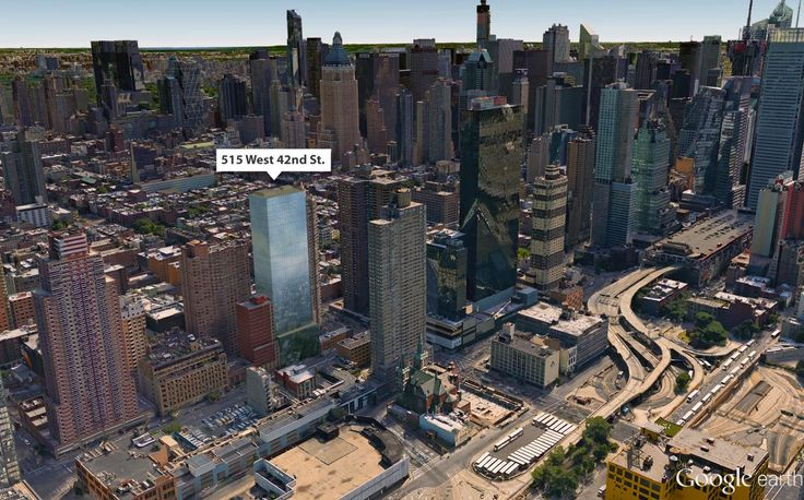 Google aerial view by CityRealty