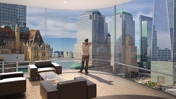 125 Greenwich Street Nyc Condo Apartments Cityrealty