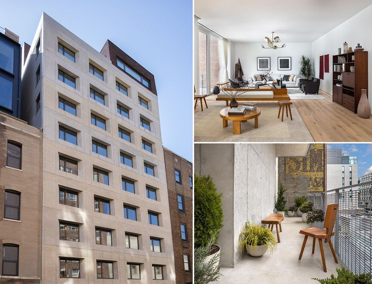 All images of 532 West 20th Street via DDG